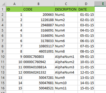 Excel in SSIS: fixing the wrong data types - Kohera