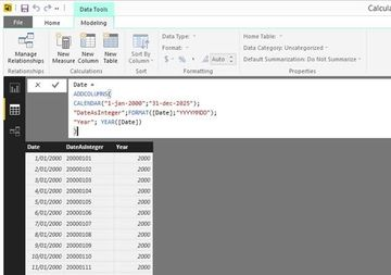 How to create a date table in Power BI in 2 simple steps